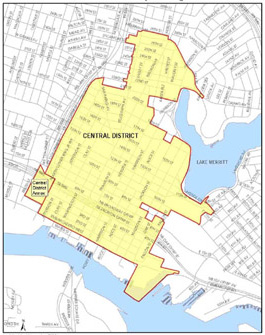 Central District Project Area Map