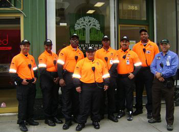 Photo of the downtown Community Benefit District staff