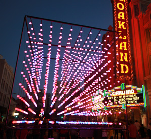 Uptown Unveiled celebration in Oakland, Calif.