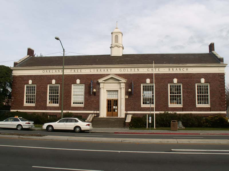 43a.0 Carnegie Libraries Golden Gate Branch