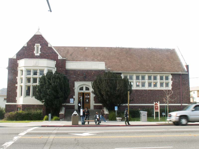 43c.0 Carnegie Libraries Temescal Branch