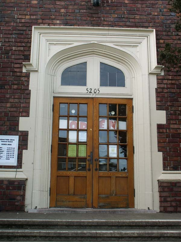 43c.1 Carnegie Libraries Temescal Branch
