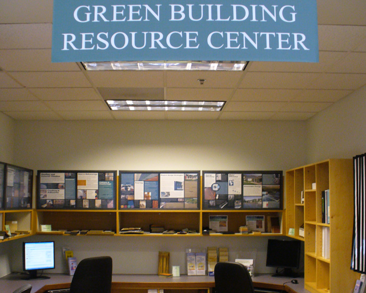 superior green building resources #2: ... Image of the Green Building Resource Center