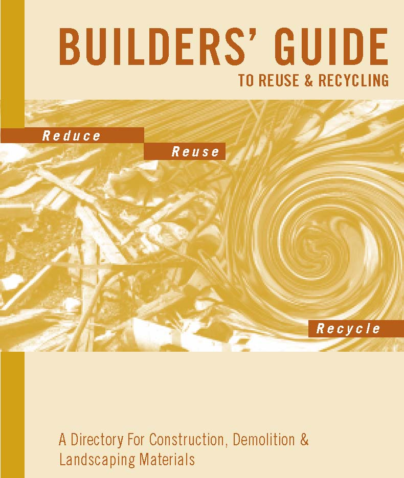 Icon of the Builders Guide to Reuse and Recycling
