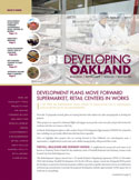 Image of the front cover of the Winter 2011 Redeveloping Oakland Newsletter