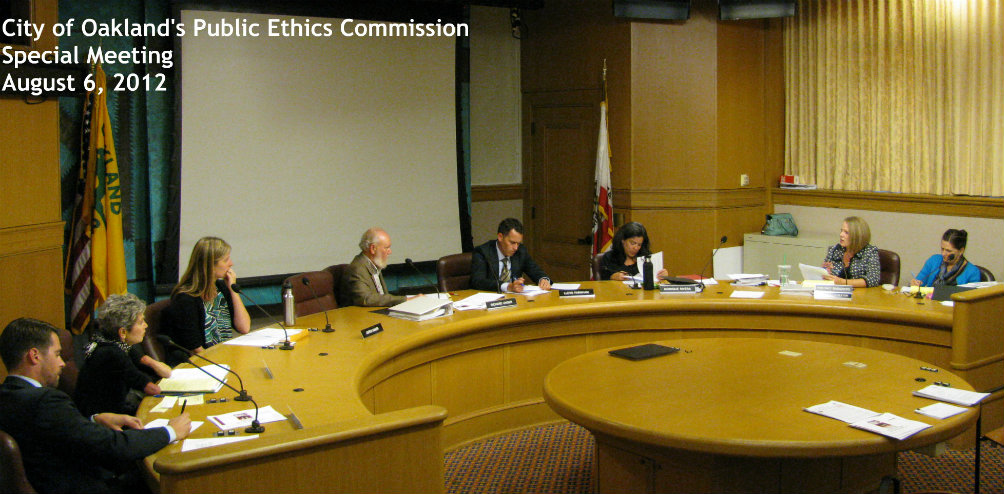 Photo of PEC August 2012 Meeting 2