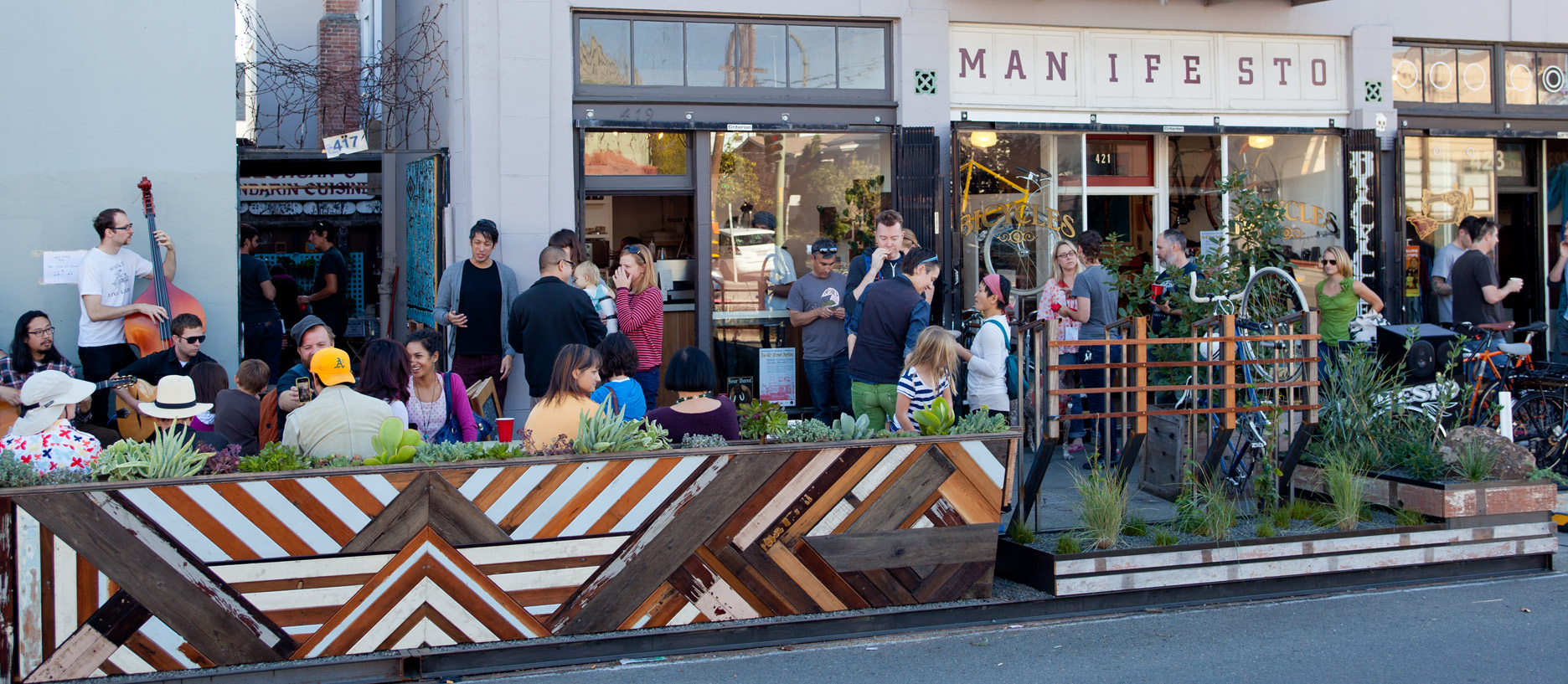 40th Street Parklet on November 3, 2012