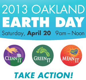 Oakland's Earth Day is Huge Success!