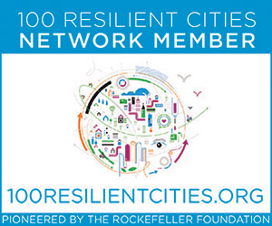 100 Resilient Cities Network Member logo