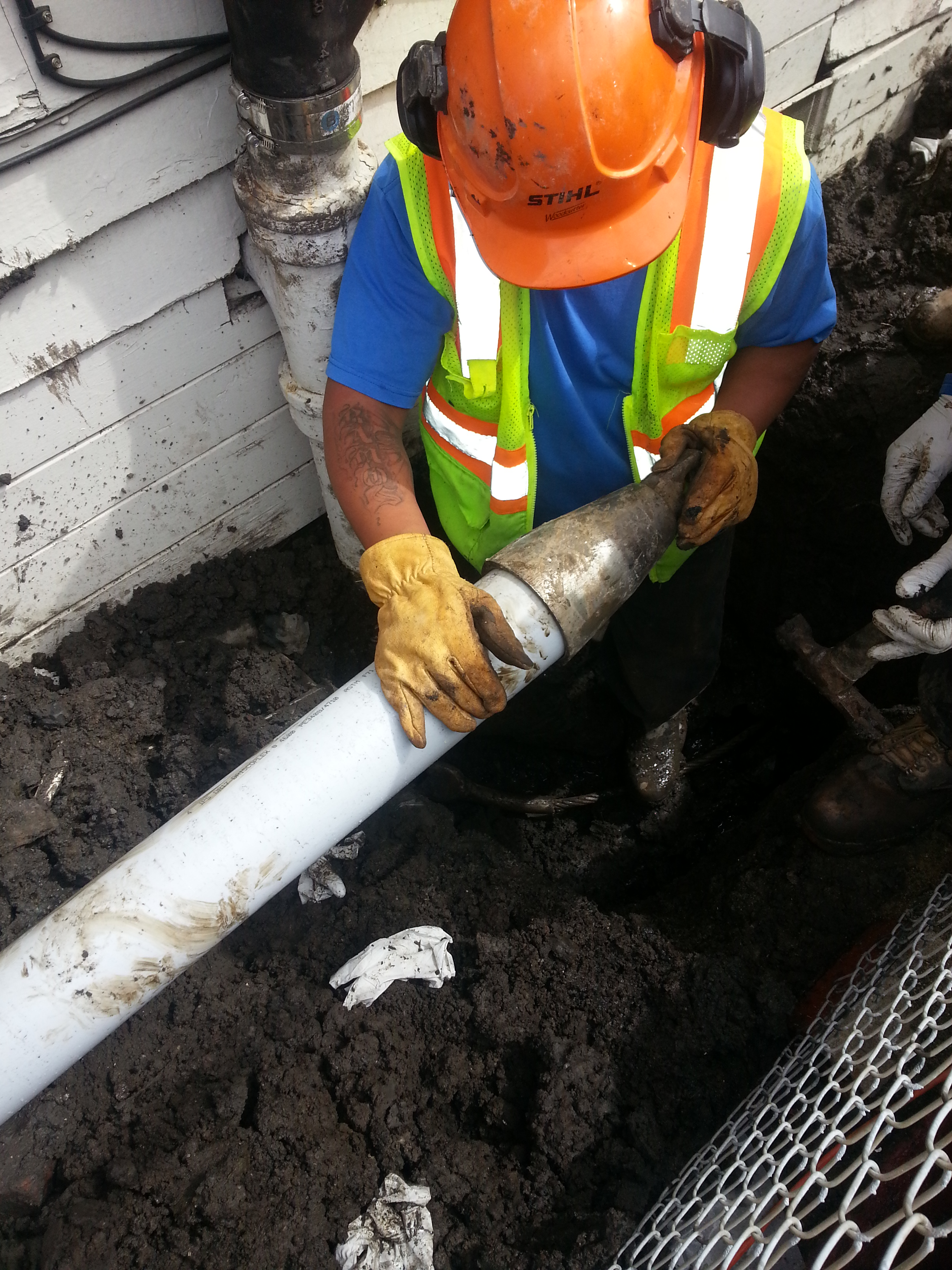 Sewer Lateral Leak- Repair