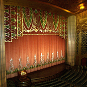photo of the ornate interior of the Paramount Theatre of the Arts