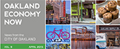 Oakland Economy Now newsletter April 2015 Masthead