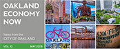 Oakland Economy Now newsletter May 2015 Masthead