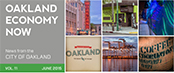 Oakland Economy Now newsletter June 2015 Masthead