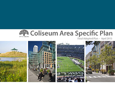 Cover of Final Adopted Coliseum Area Specific Plan