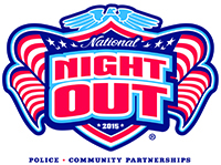 Logo for the National Night Out 2015
