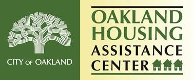 Logo of City of Oakland's Housing Assistance Center