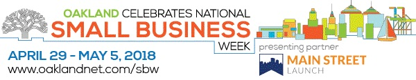 logo for Oakland 2016 National Small Business Week