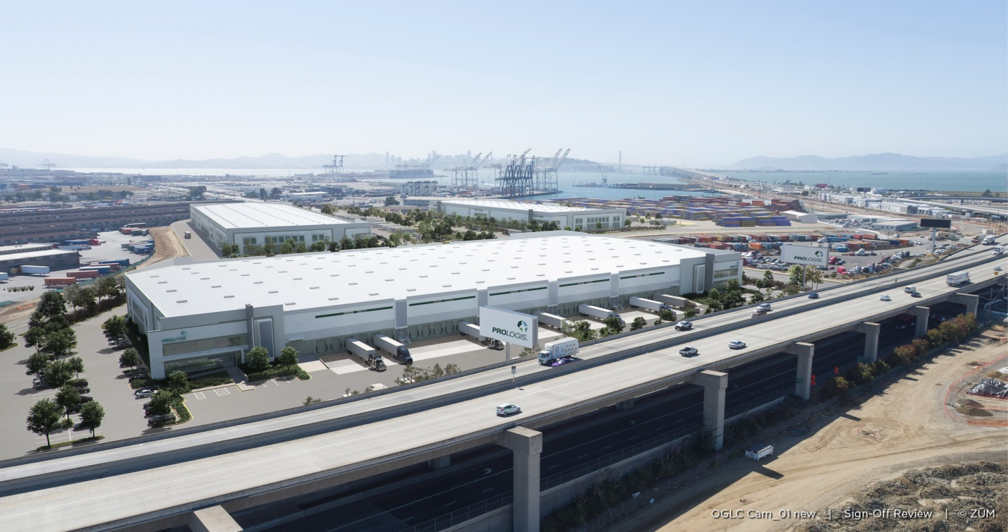 OAB Prologis Site Rendering