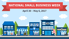 2017 National Small Business Week logo