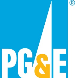 logo for Pacific Gas and Electric, Changemaker Sponsor for the 2018 Oakland Small Business Week