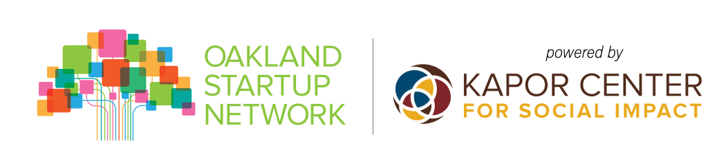 Logo for Oakland Startup Network/Kapor Center for Social Impact