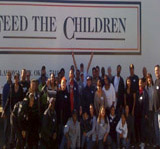 Feed the Children Food Give-Away November 2009