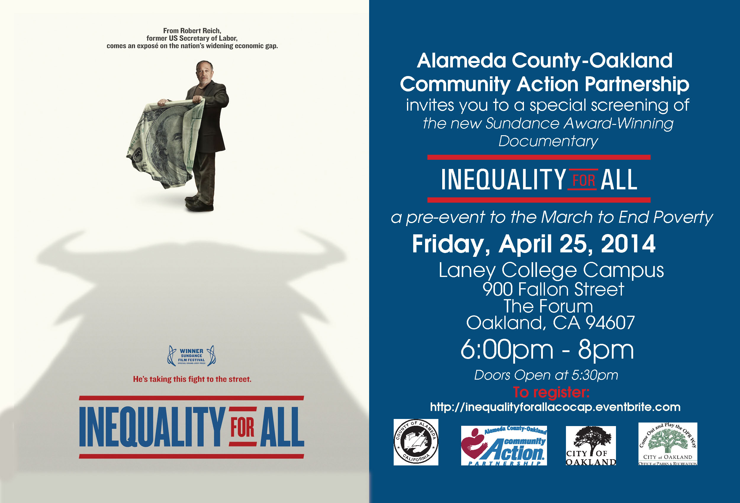 Inequality for All Movie Screening