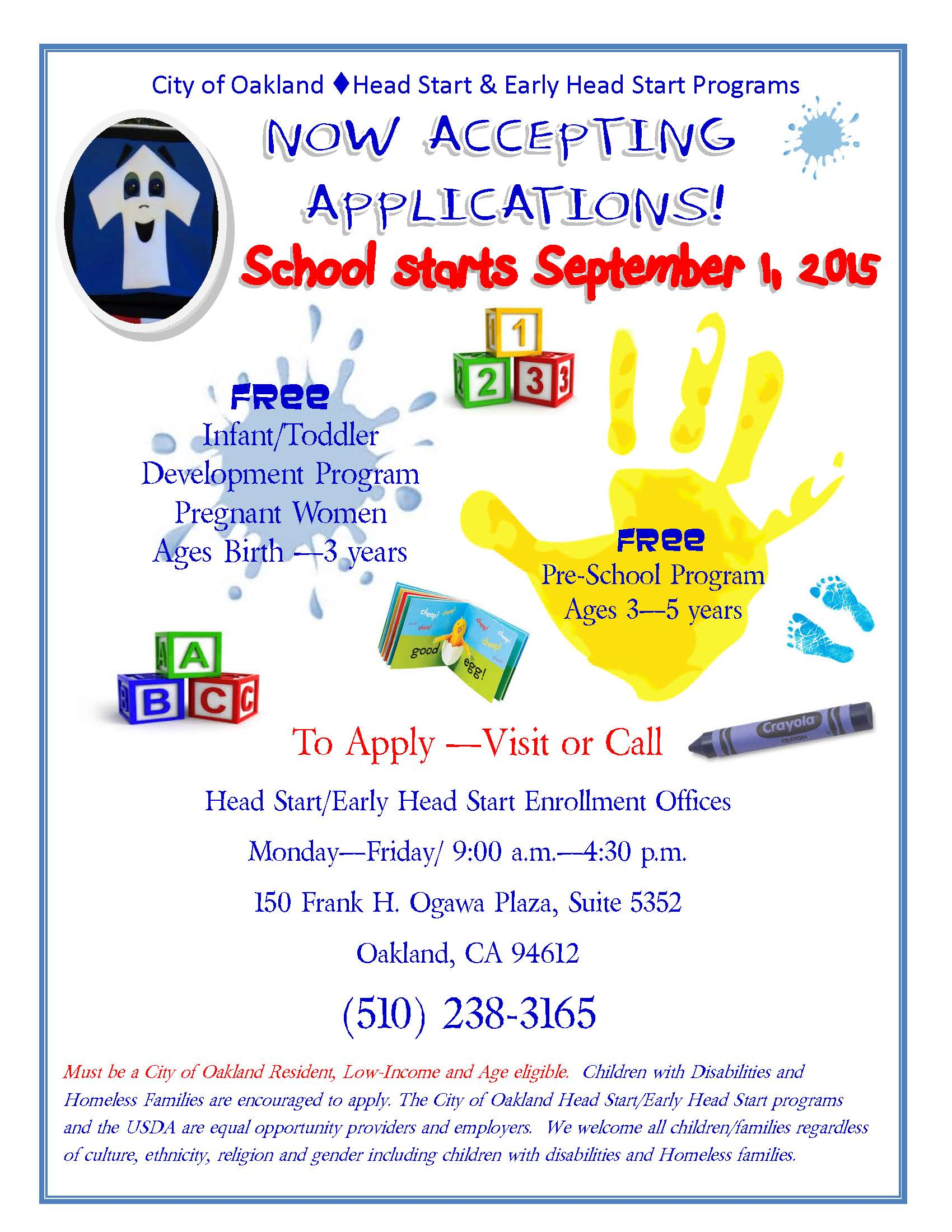 HEAD START RECRUITMENT FLYER ENGLISH - 1