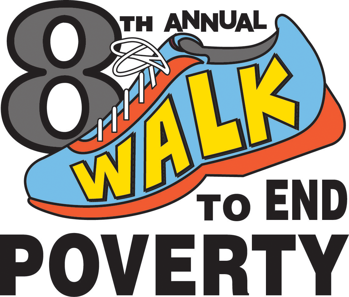 8th Annual Walk to End Poverty logo