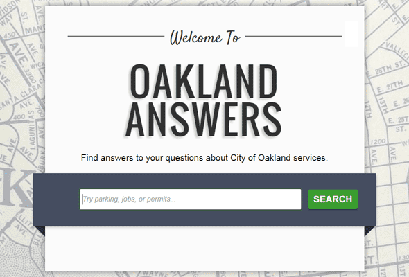 Oakland Answers