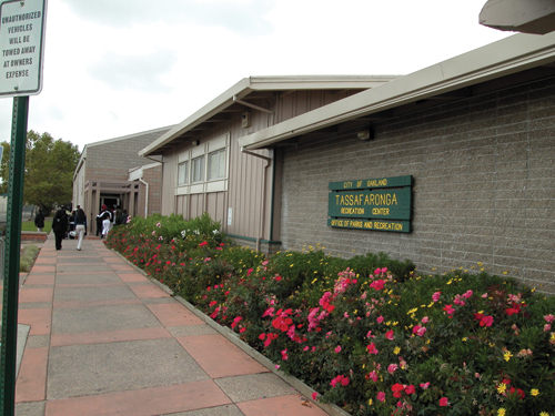 Photo of the Tassafaronga Recreation Center