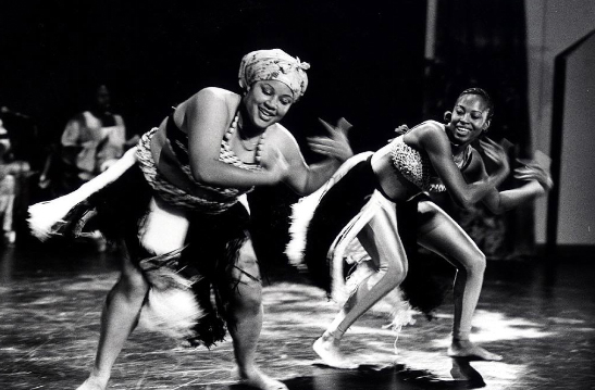 Photo of African Dancers at the Malonga Casquelourd Center for the Arts