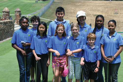 Photo of the ACE Kids Golf Program