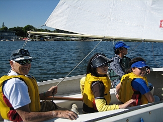 Photo of Small Boat Sailing