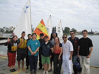 Photo of Small Boat Sailing Group Shot