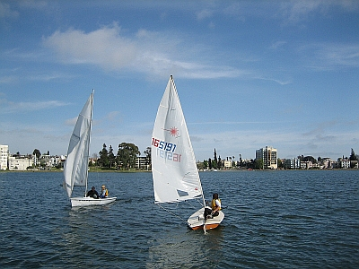 Photo of Small Boat Sailing - Laser Boat