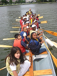 Photo of Dragonboat Paddlers