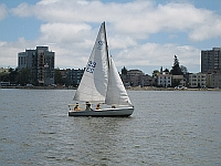 Photo of a Sailing Lesson