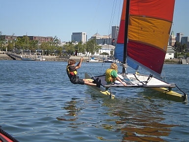 Photo of Catamaran Sailing Day Camp