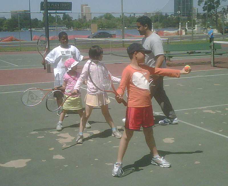 Photo of Tennis outreach program