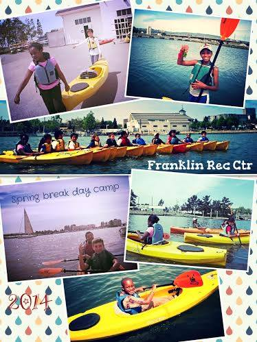 Franklin Kayaking Spring Camp 2014