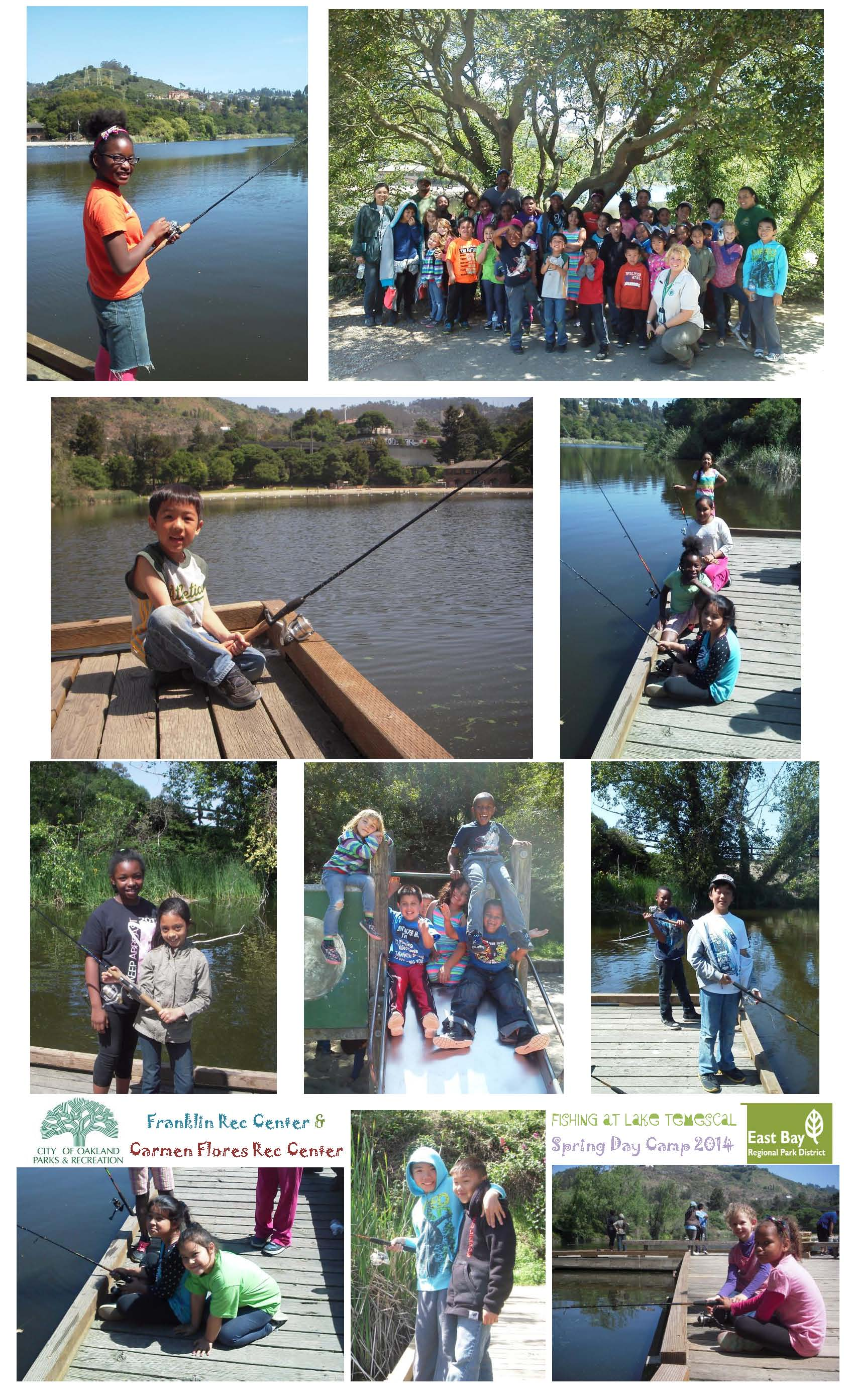 Franklin Fishing at Temescal Spring Camp 2014