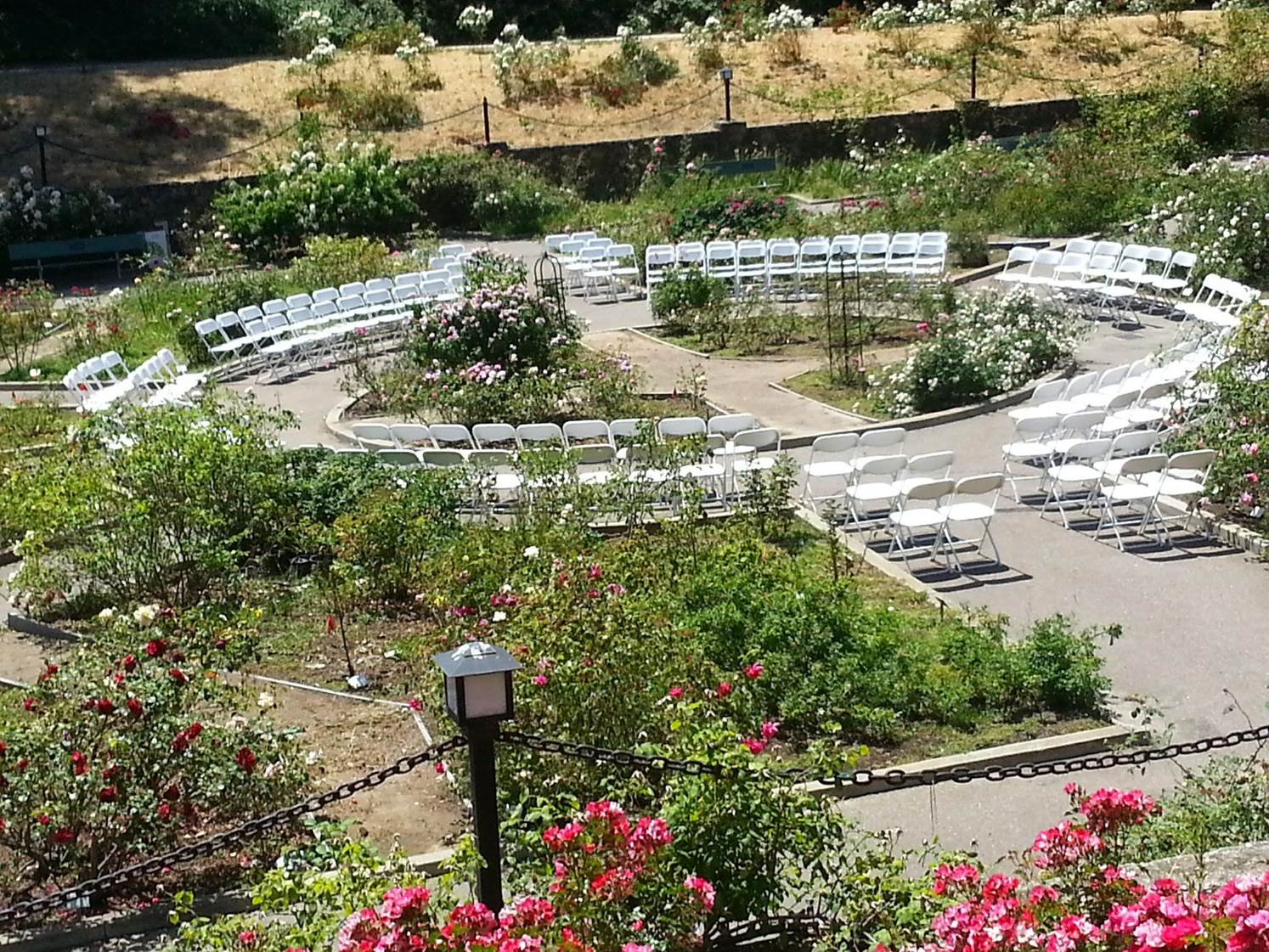 Morcom Rose Garden Rental Facilities City Of Oakland