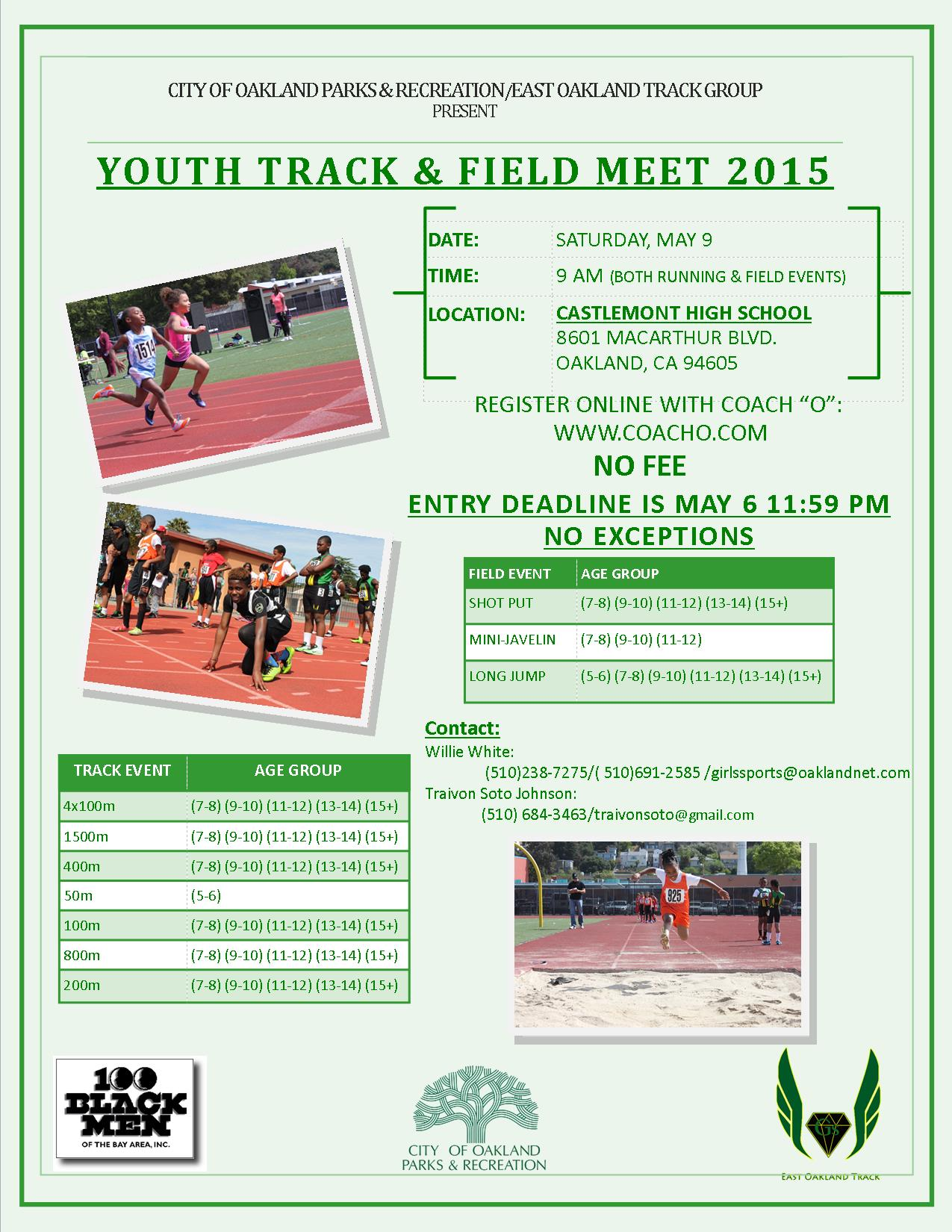 OPR track & field may 9