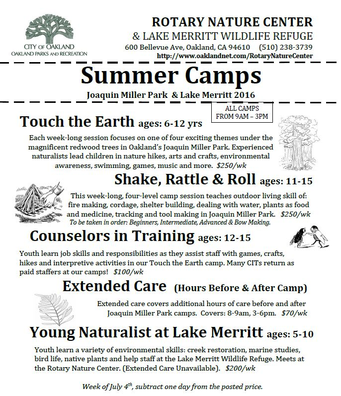 RNC camp flyer