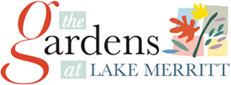 Logo for the Gardens at Lake Merritt