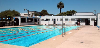 Photo of the deFremery Pool