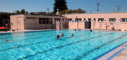 Photo of the Temescal Pool