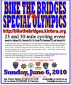 Bike the Bridges Special Olympics Fundraiser